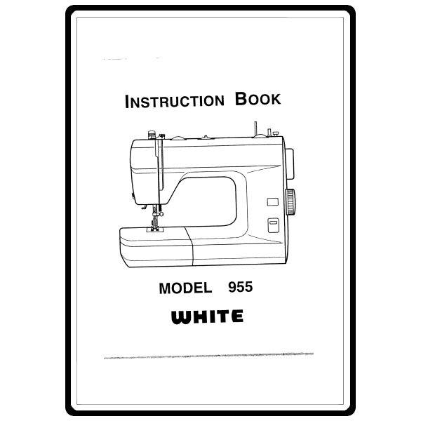 Instruction Manual, White 955 : Sewing Parts Online