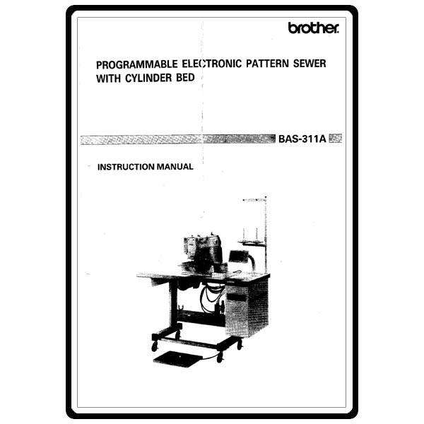 Instruction Manual, Brother BAS-311A : Sewing Parts Online