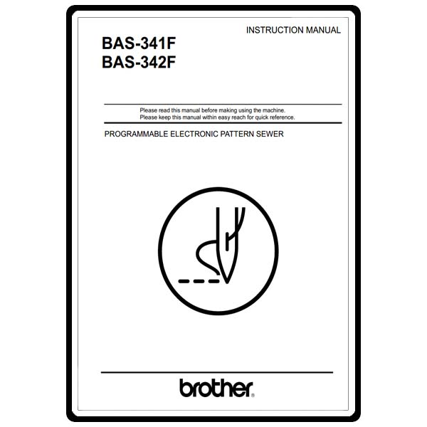 Instruction Manual, Brother BAS-342F : Sewing Parts Online