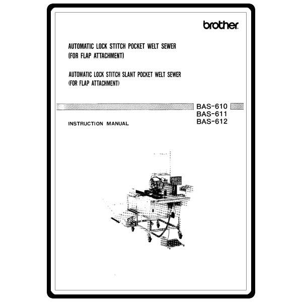 Instruction Manual, Brother BAS-610 : Sewing Parts Online