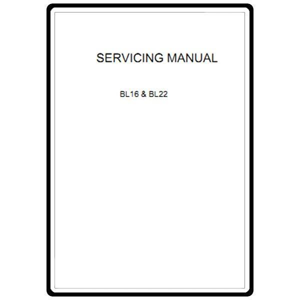 Service Manual, Babylock BL16 Denim Pro : Sewing Parts Online