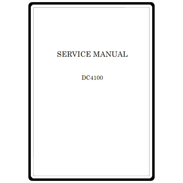Service Manual, Janome DC4100 : Sewing Parts Online