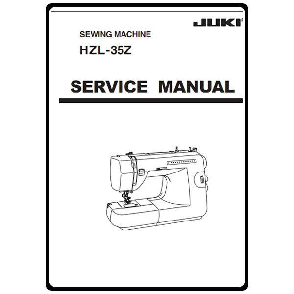 Service Manual, Juki HZL-35Z : Sewing Parts Online