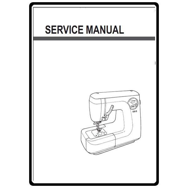 Service Manual, Juki HZL-T100 : Sewing Parts Online