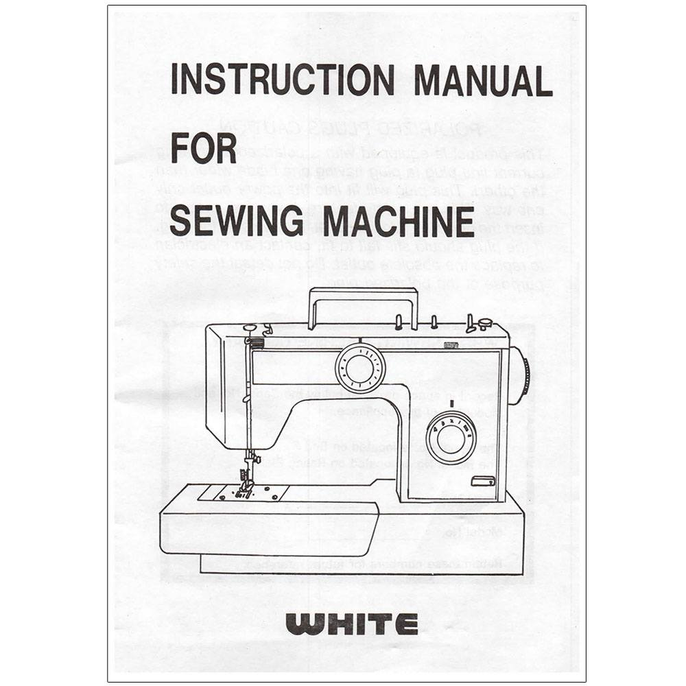 Instruction Manual, White 1788 : Sewing Parts Online