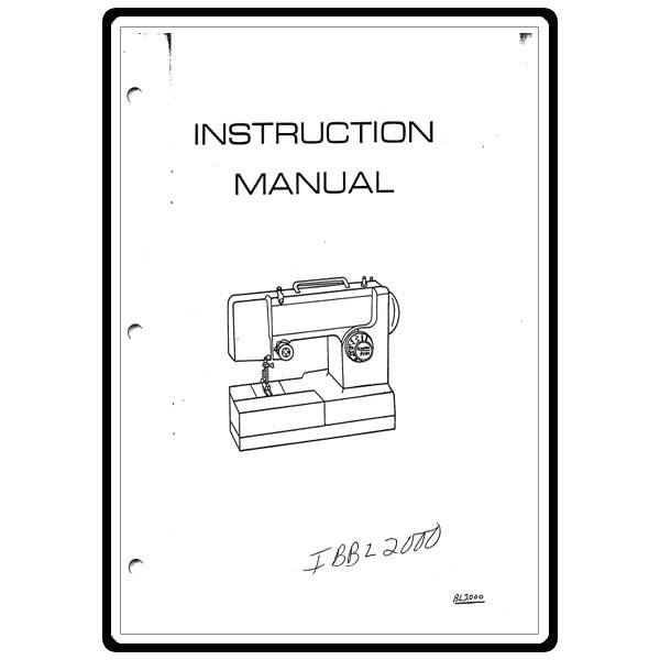Instruction Manual, Babylock BL500 : Sewing Parts Online