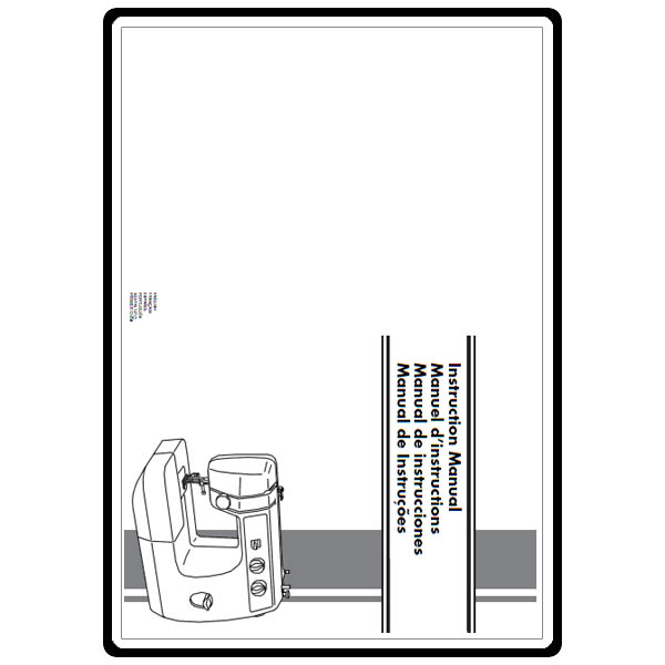 Instruction Manual, Brother LS-2020 : Sewing Parts Online