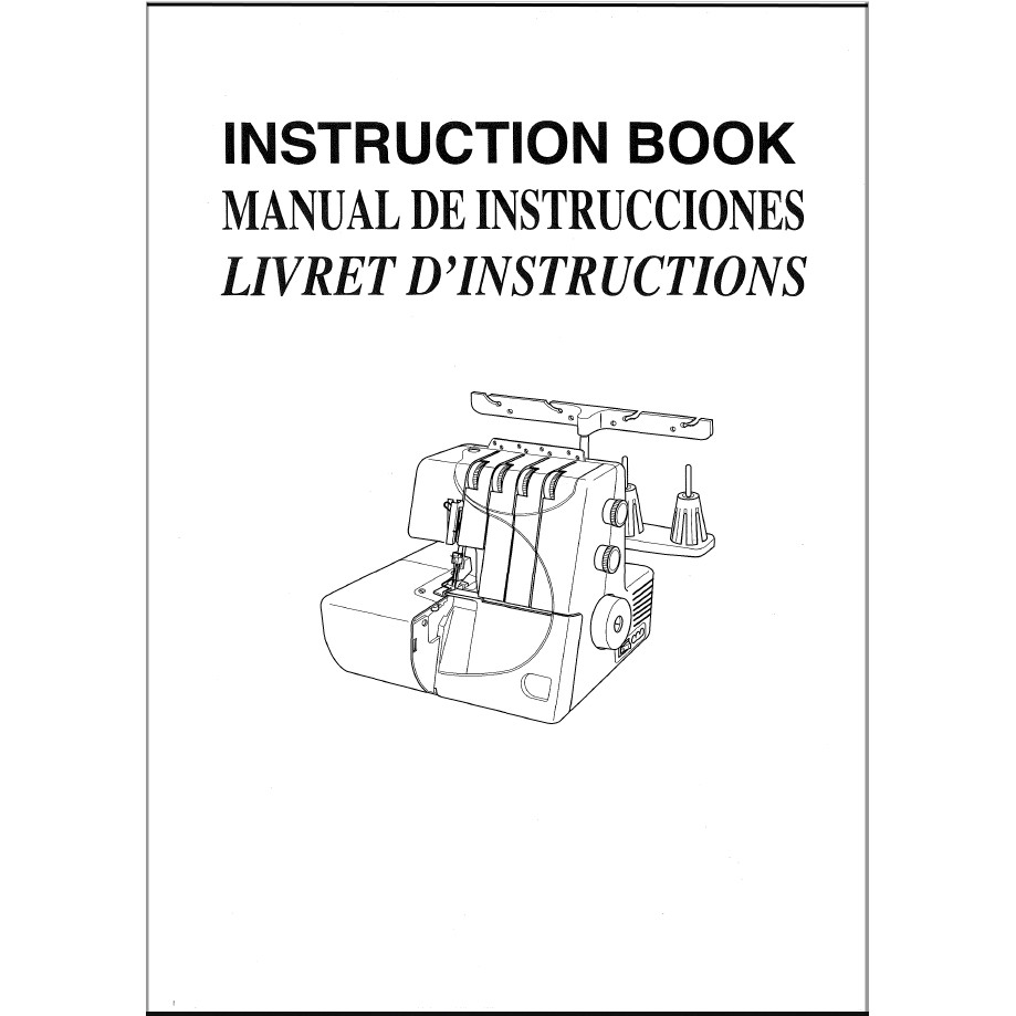 Instruction Manual, Janome 7933 Harmony : Sewing Parts Online