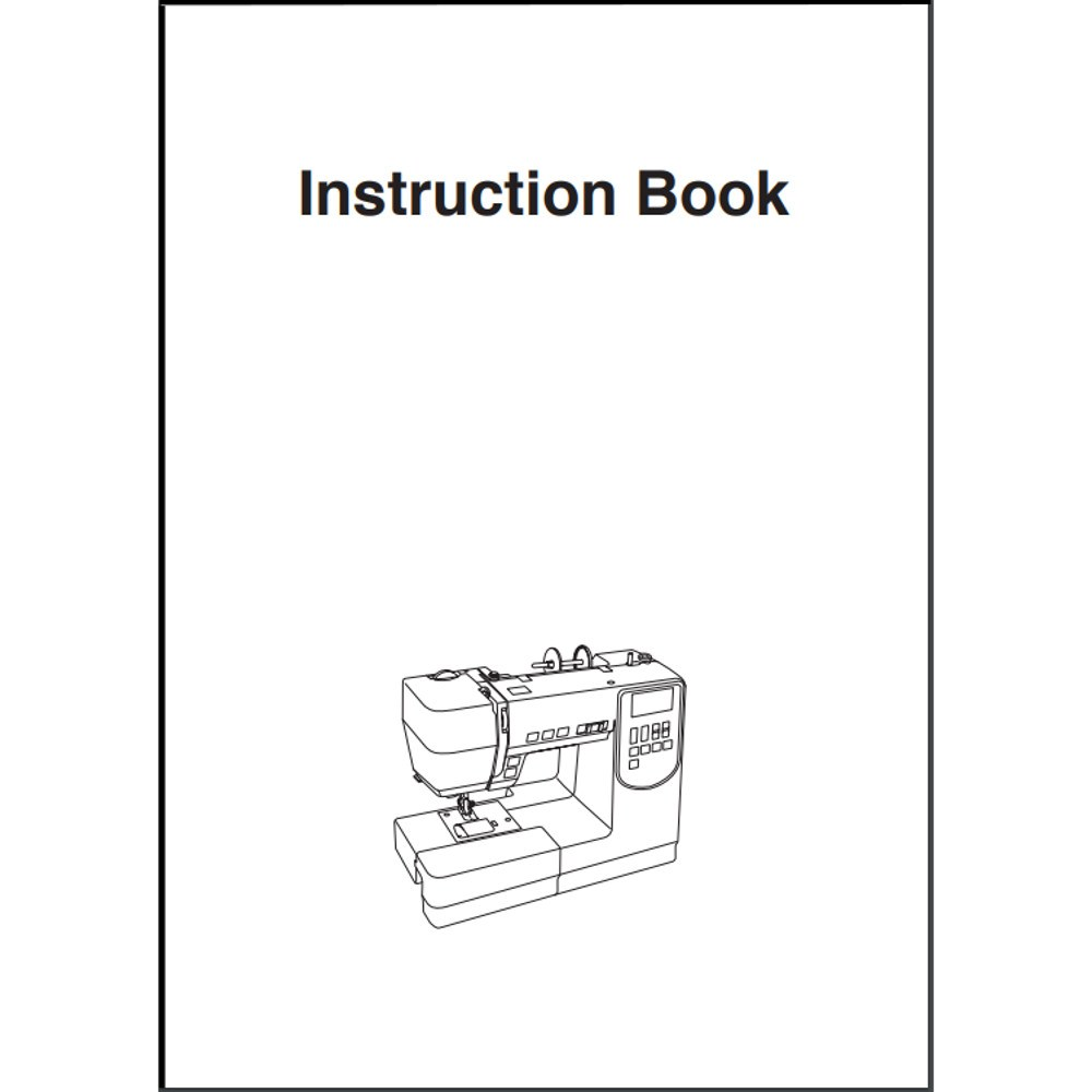 Instruction Manual, Janome AMH-M100 : Sewing Parts Online