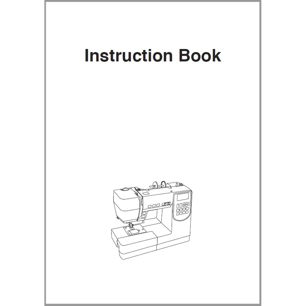 Instruction Manual, Janome M7200 : Sewing Parts Online