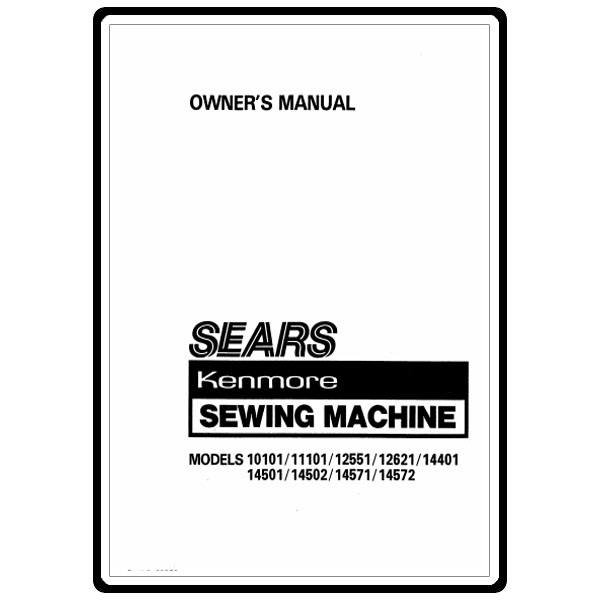 Instruction Manual, Kenmore 158.1262181 : Sewing Parts Online