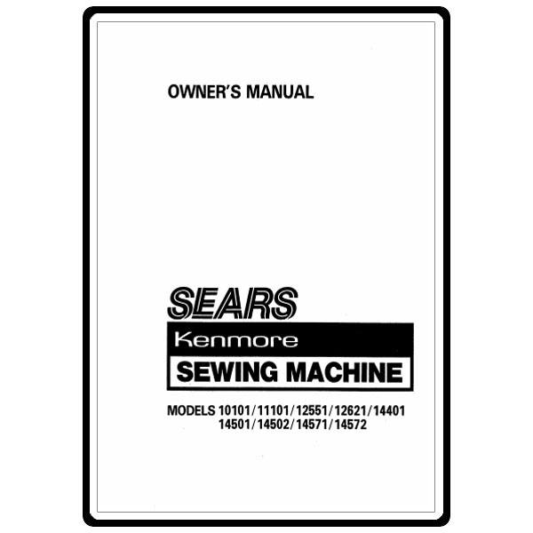 Instruction Manual, Kenmore 158.1450280 : Sewing Parts Online