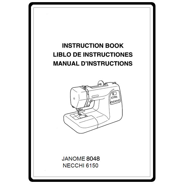 Instruction Manual, Necchi 6150 : Sewing Parts Online