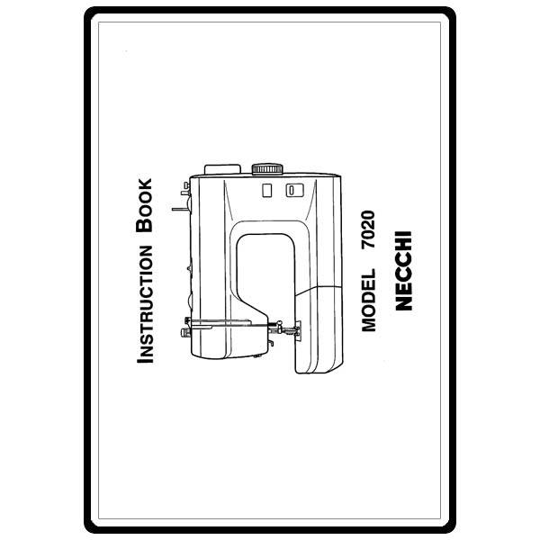 Instruction Manual, Necchi 7020 : Sewing Parts Online
