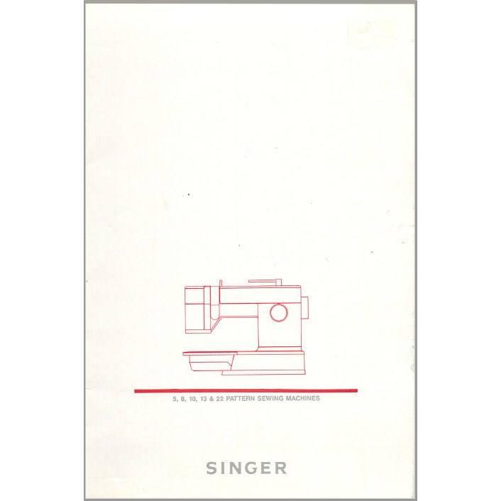 Instruction Manual, Singer 9005 : Sewing Parts Online