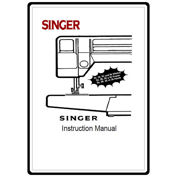 Instruction Manual, Singer CP17 : Sewing Parts Online