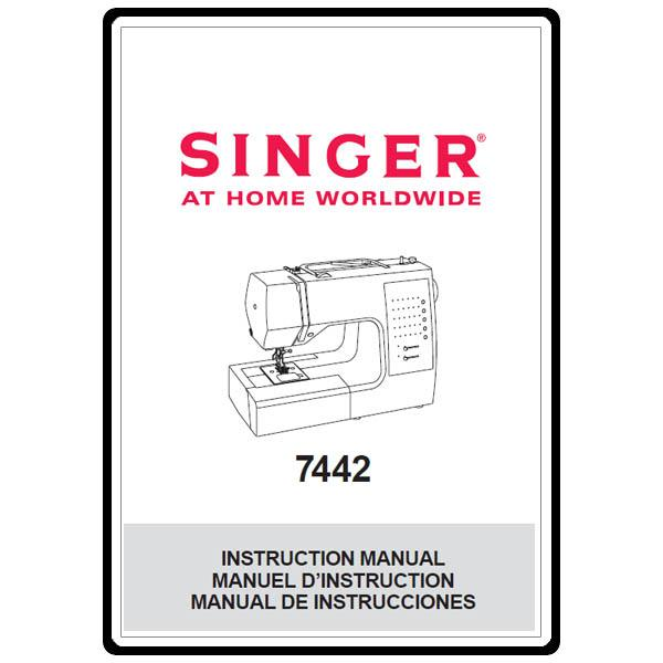 Instruction Manual, Singer 7442 : Sewing Parts Online