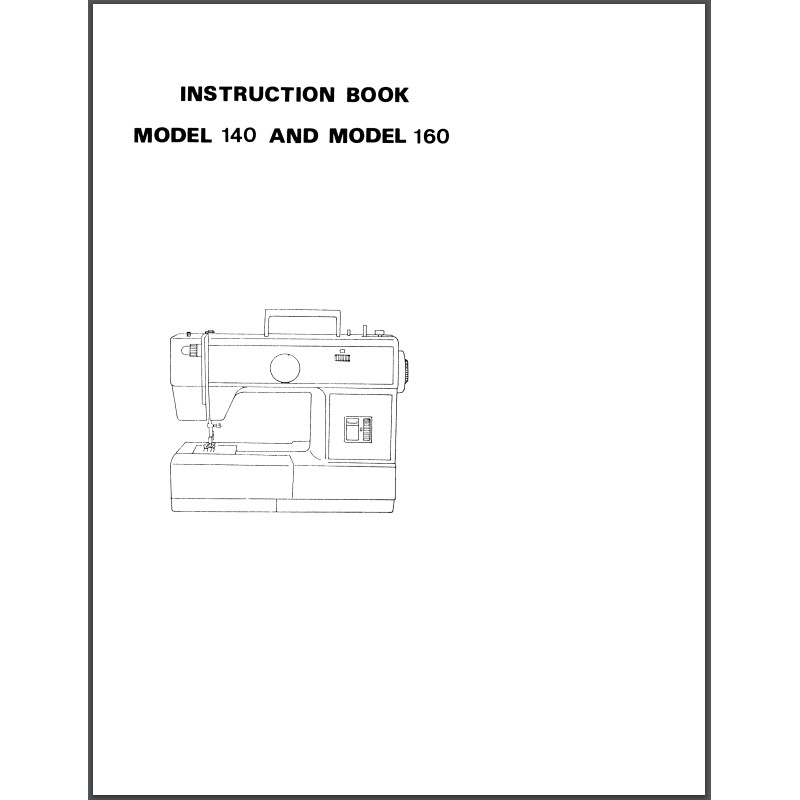 Instruction Manual, Viking Husky 160 : Sewing Parts Online