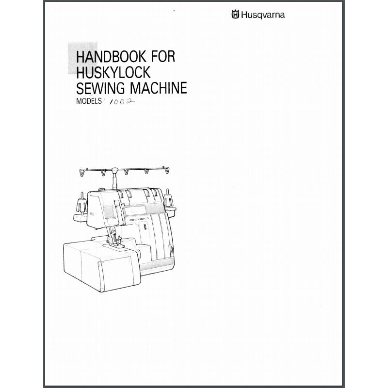 Instruction Manual, Viking Huskylock 1002 : Sewing Parts