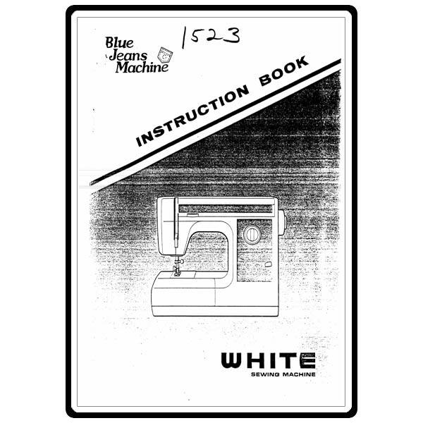 Instruction Manual, White 1523 : Sewing Parts Online