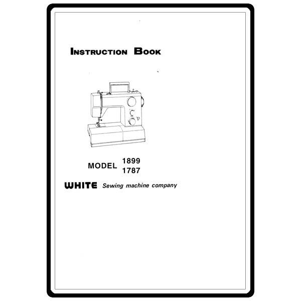 Instruction Manual, White 1787 : Sewing Parts Online