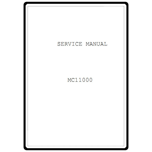 Service Manual, Janome MC11000 : Sewing Parts Online