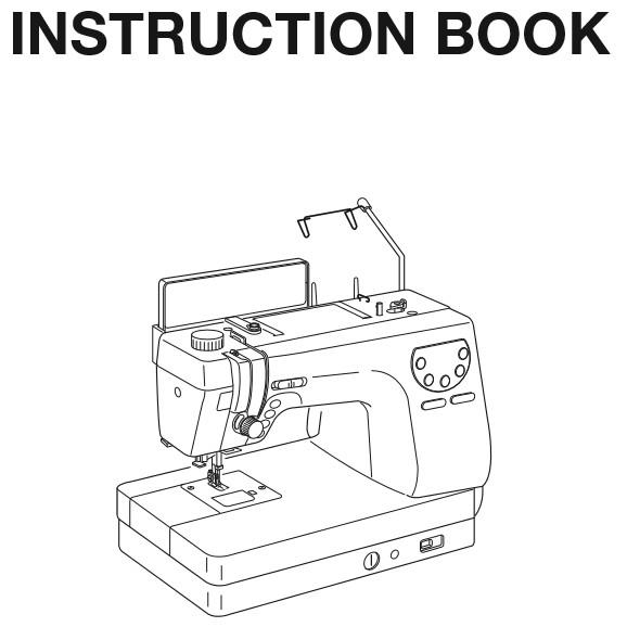 Instruction Manual, Janome MC6300P : Sewing Parts Online