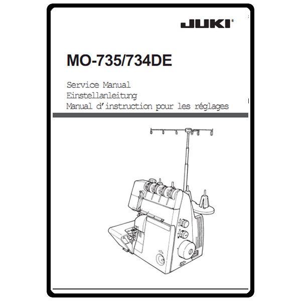 Service Manual, Juki MO-735 : Sewing Parts Online