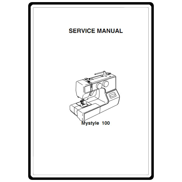 Service Manual, Janome My Style 100 : Sewing Parts Online