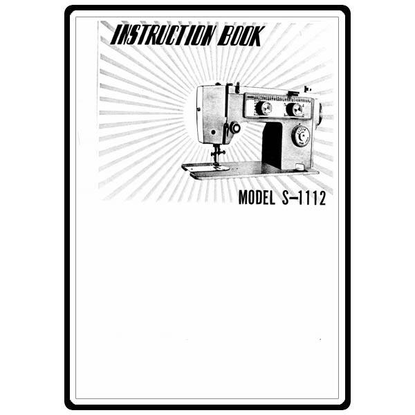 Instruction Manual, White S1112 : Sewing Parts Online