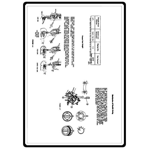 Service Manual, Kenmore 158.18033 : Sewing Parts Online
