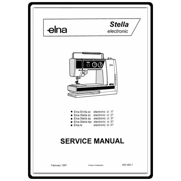 Service Manual, Elna Stella Series : Sewing Parts Online