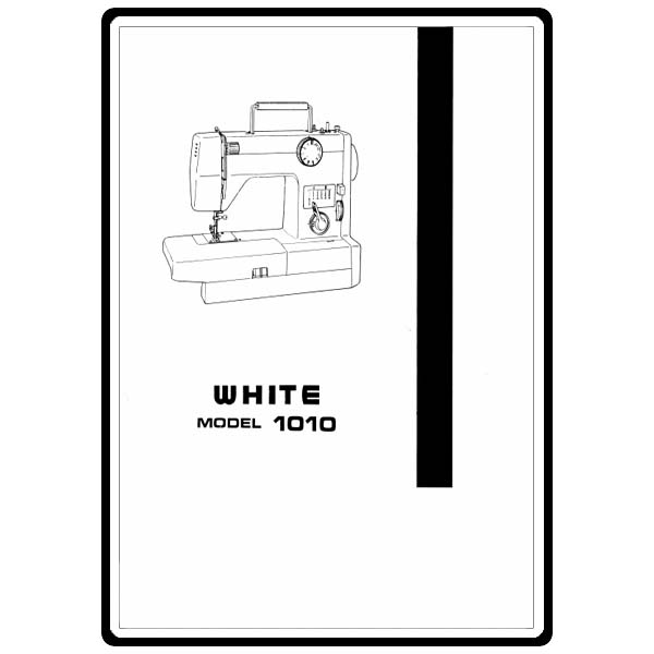 Instruction Manual, Singer W1010 : Sewing Parts Online