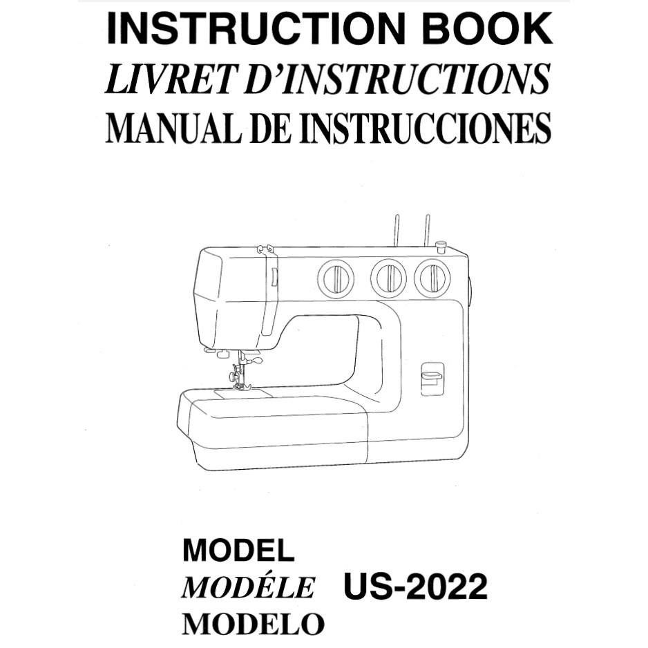 Instruction Manual, Janome US-2022 : Sewing Parts Online