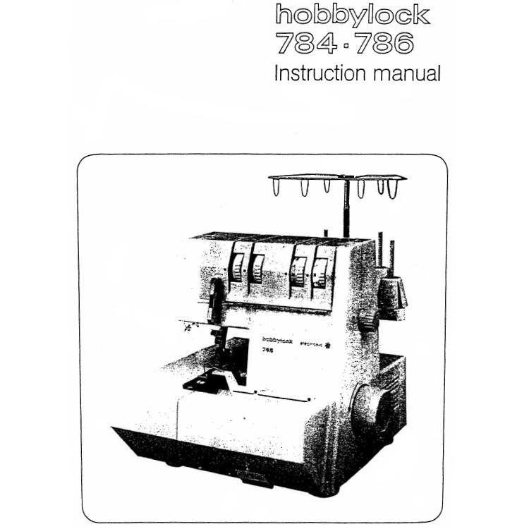 Instruction Manual, Pfaff Hobbylock 786 : Sewing Parts Online