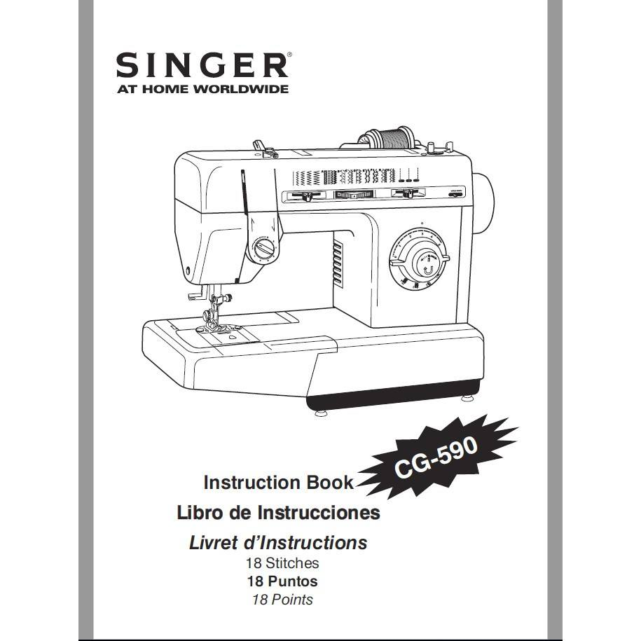 Instruction Manual, Singer CG-590 : Sewing Parts Online