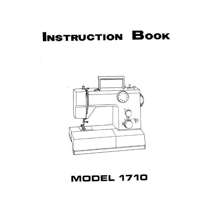 Instruction Manual, White 1710 : Sewing Parts Online