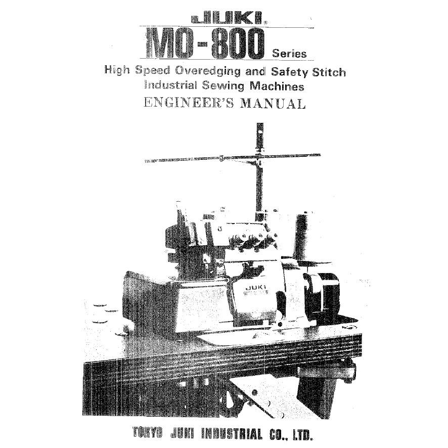 Service Manual, Juki MO-804 : Sewing Parts Online