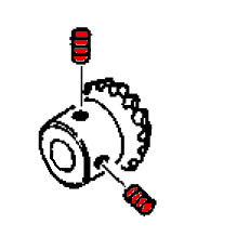 Bevel Gear Screw, Singer #504101 : Sewing Parts Online