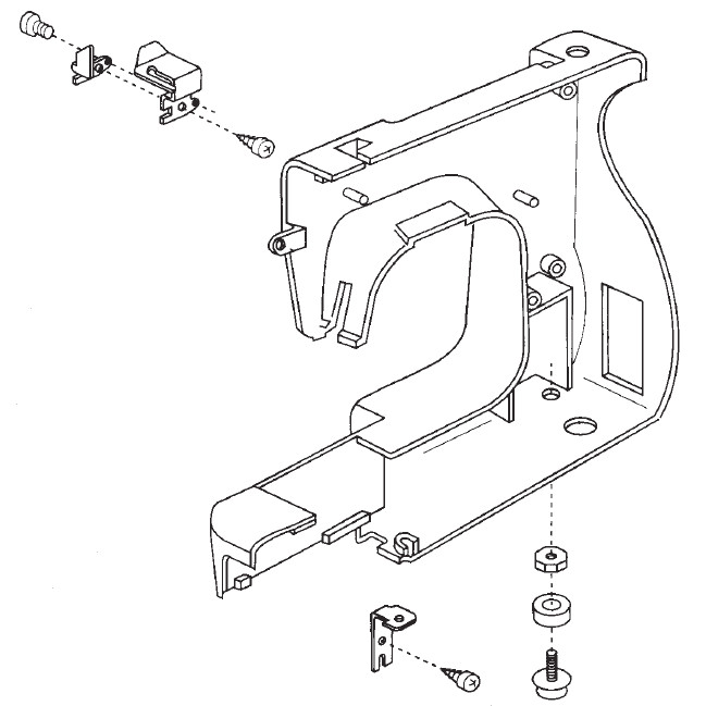 Rear Cover Unit, Janome #660606006 : Sewing Parts Online