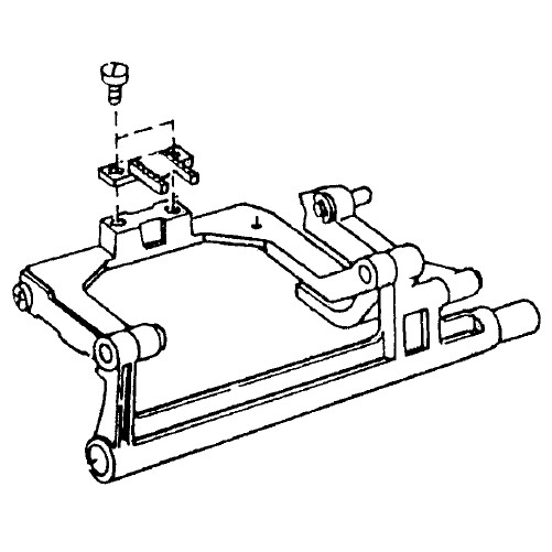 Feed Shaft Unit, Janome #751640100 : Sewing Parts Online