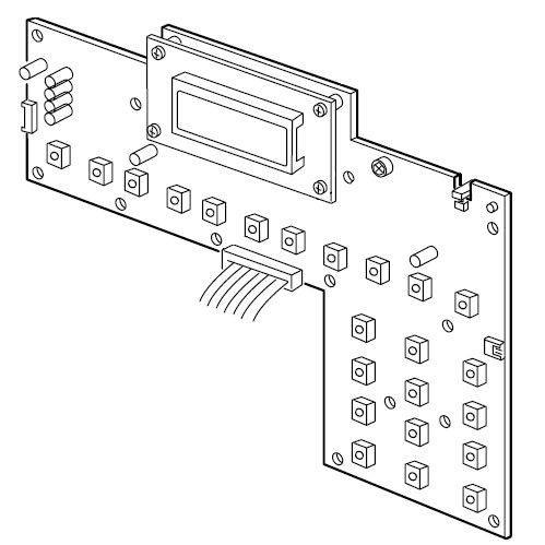 Printed Circuit Board (K), Janome #841607004 : Sewing