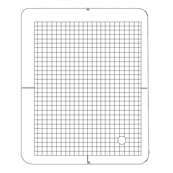 GR Template Grid, Janome #859820701 : Sewing Parts Online