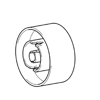 Handwheel, Babylock, Brother #XC2375051 : Sewing Parts Online