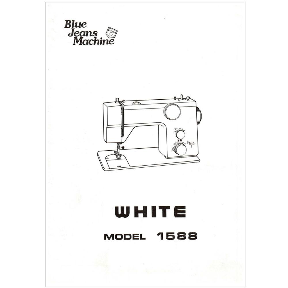 Instruction Manual, White 1588 : Sewing Parts Online