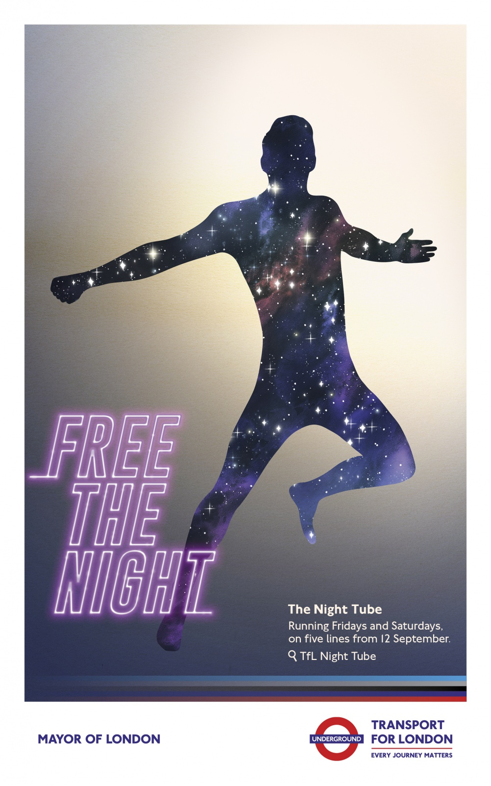free the night poster
