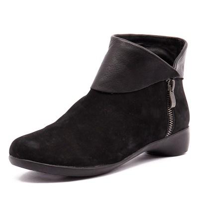 Gamins Ervin Black Nubuck/Black Leather (Black)