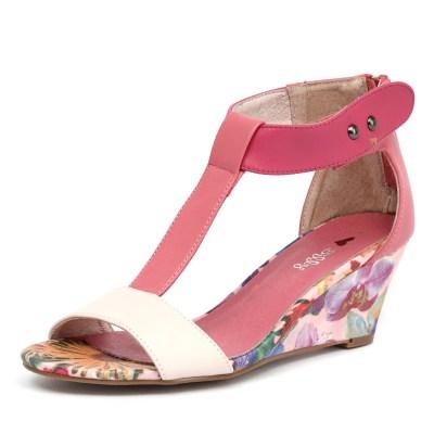 I Love Billy Bazzy Pink/Coral/Dark Pink/Floral (Pink)