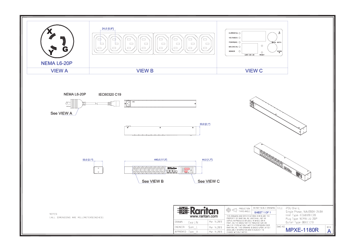 Rack Pdu Pxe R Product Selector