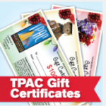 TPAC Gift Certificates